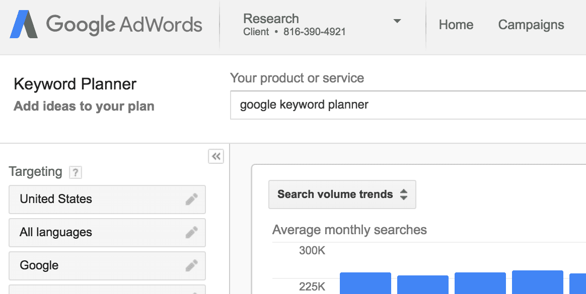 Google Keyword Planner, All You Need To Know